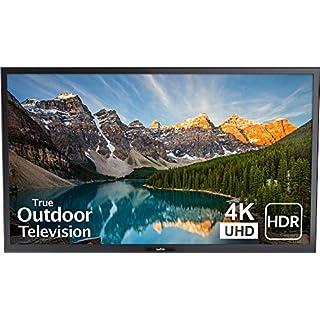 SunBriteTV 43-Inch Outdoor Television for Shade | Veranda (2nd Gen) 4K UHD HDR LED Outdoors TV - SB-V-43-4KHDR-BL Black
