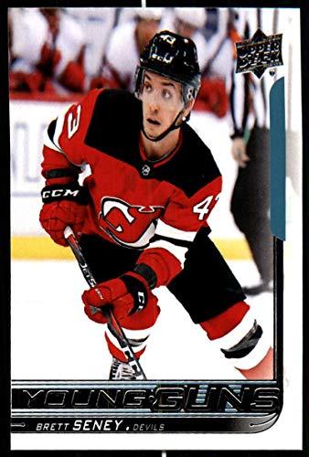 more photos fa03d 60c13 Amazon.com: 2018-19 Upper Deck Hockey Series Two #480 Brett ...