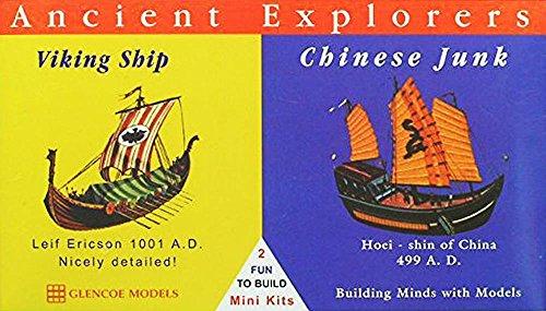 GM3301 バイキング船&中国ジャンク船