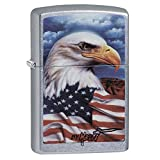 Zippo Claudio Mazzi Eagle Flag Lighter