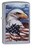 Zippo Claudio Mazzi Eagle Flag Lighter