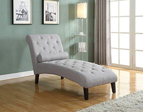 Home Life Fur_c10006_Grey_04_FBA Linen Chaise Lounger, Light Grey