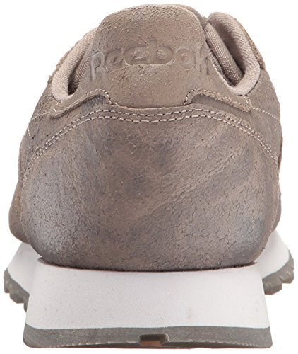 Sandstone Fashion White Leather CL Reebok Sneaker Men Cte S6HnwYq