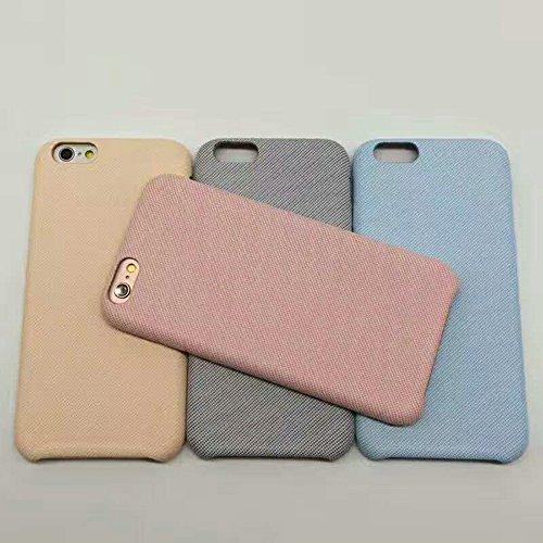 - iPhone 6/6S Case, Mixneer Small Fresh Linen Cloth Phone Shell Personalized Creative Cloth Shell for Apple iPhone 6/6S 4.7 Inch - Light Blue