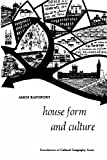 House Form and Culture, Rapoport, Amos, 0133956733