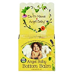 Earth Mama-Angel Baby Angel Baby Bottom Balm, 2 oz (60 ml) (Pack of 2)