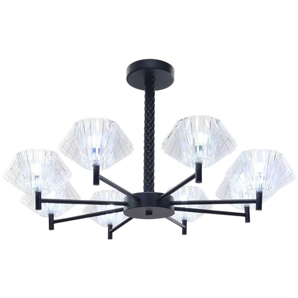 RMXMY 現代のミニマリストのシャンデリア雰囲気錬鉄製LED吊りランプ人格研究室レストランG98備品 - 照明&天井ファン B07Q4BQJNM