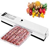 Vacuum Sealer Automatic Food Sealer Machine with Starter Bags for Food Vacuuming Savers and Sous Vide