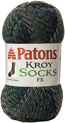 Patons Kroy Socks FX Yarn, Cascade Colors