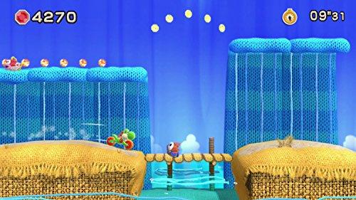 Yoshi Woolly World Bundle Green Yarn Yoshi amiibo - Wii U (Japanese version) by nintendo (Image #8)