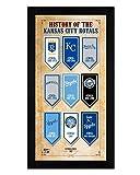 History of the Kansas City Royals 7x13 Framed Sports Photo