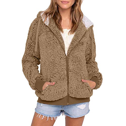 Frame Clearance Tubes - Clearance Women Faux Fur Hooded Coat, Duseedik Plus Size Casual Pocket Parka Outwear Cardigan Sweater