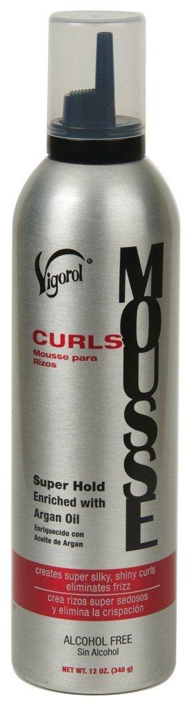 Vigorol Curly Hair Mousse, 12 Oz, 0.75 lb 78319471033