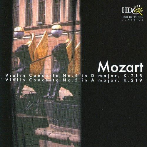 Mozart: Violin Concertos Nos. 4, 5