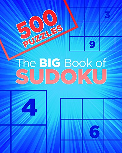 The Big Book of Sudoku: 500 Puzzles (Big Book of 500 Puzzles) (Best Sudoku Game For Iphone)