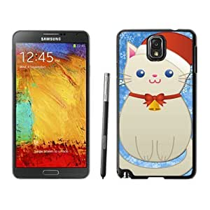 Recommend Design Christmas Snowman Cat Black Samsung Galaxy Note 3 Case 1
