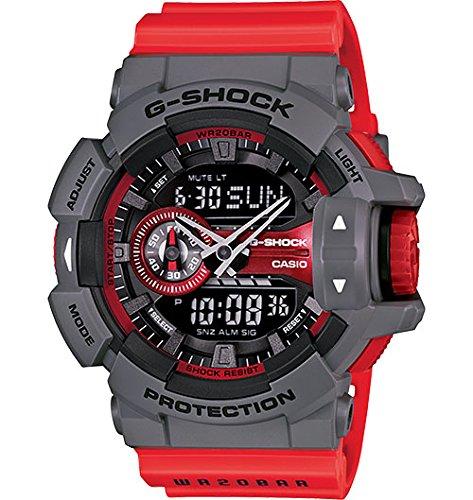 - G-Shock - GA-400 Series - Grey/Red - GA400-4B