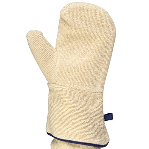 UltraSource Terry Cloth Oven Mitts for Baking, Heat Resistant up to 450°F (Pair) by UltraSource