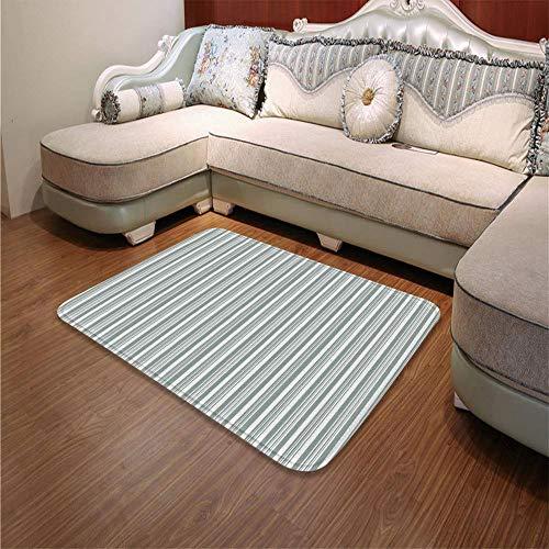 YOLIYANA Water Absorption Non-Slip Mat,Modern Decor,for Corridor Study Room Bathroom,55.12