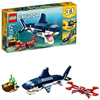 LEGO Creator 3in1 Deep Sea Creatures 31088 Building Kit ,...
