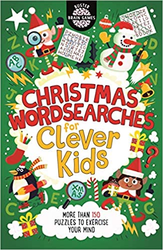 Christmas Wordsearches For Clever Kids Buster Brain Games