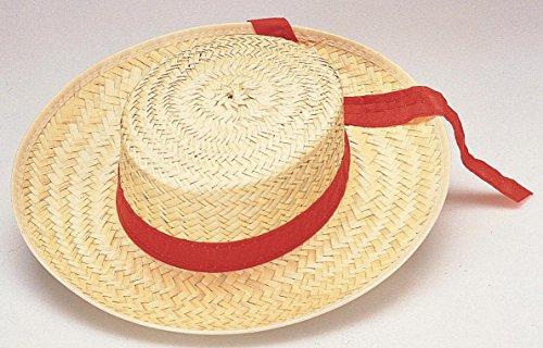 Straw Gondolier Hat -