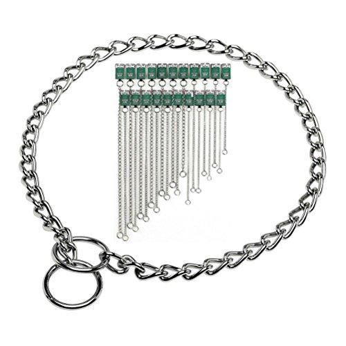 Choke Chain Collar Dog Obedience Training Slip Choker