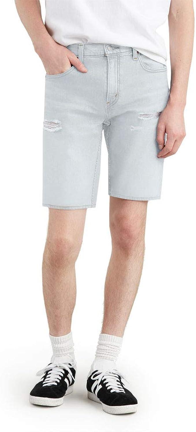 Levi's 李维斯 502系列 破洞 男式牛仔短裤 4折$17.62 海淘转运到手约¥149