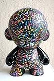 Chris Riggs kidrobot mega munny dunny kid robot vinyl toy modern 18'' nyc contemporary modern graffiti pop art love world peace hearts street