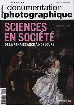 Book Sciences et société. De la Renaissance à nos jours