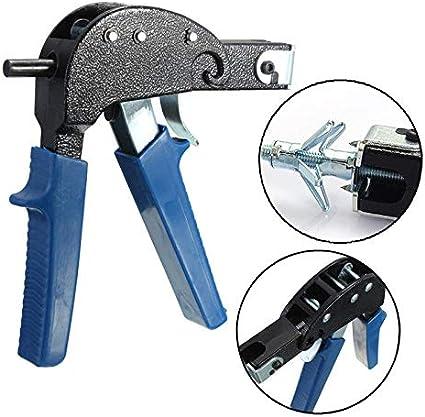Maso - Pistola de herramientas de fijación de anclaje de pared & M4 M5 M6 con tornillos mixtos huecos para yeso