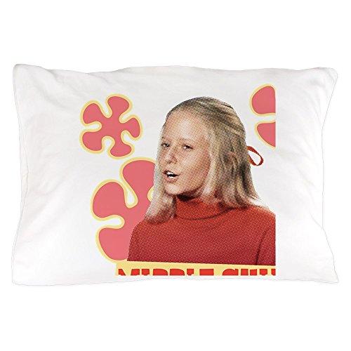 CafePress The Brady Bunch: Jan Brady Standard Size Pillow Case, 20