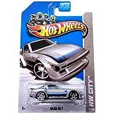 Hot Wheels 2013 Regular Treasure Hunt Mazda RX-7 Silver #22/250 by Mattel