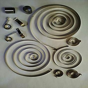 Spirale Plat Horloge /à Force constante Printemps, mm Epaisseur x 340-1100 mm Largeur x 1pc Petite Spirale Puissance Printemps 0,1-0,3 mm L 2-6 Taille : 0.3x5x1100mm Length NO LOGO W-Shuzhen