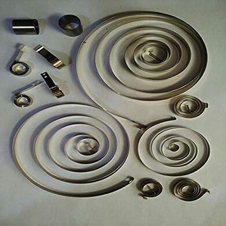 mm L NO LOGO W-Shuzhen Spirale Plat Horloge /à Force constante Printemps, 2-6 mm Largeur x 0,1-0,3 Taille : 0.1x3x510mm Length 1pc Petite Spirale Puissance Printemps 340-1100 mm Epaisseur x