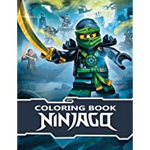 Ninjago Coloring Book: Great Activity Book for Kids and Adults