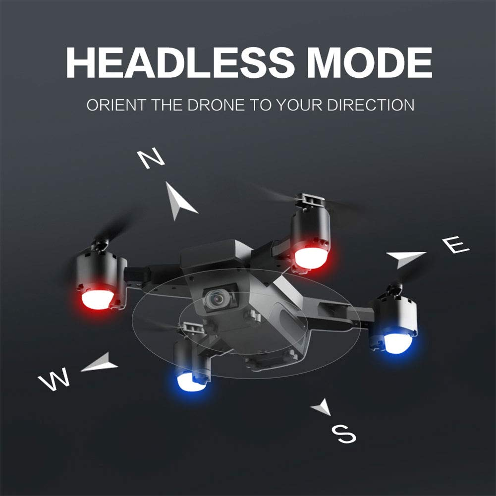 AIUYER Plegable Drone con Camara HD Estabilizador GPS 720P 120º ...
