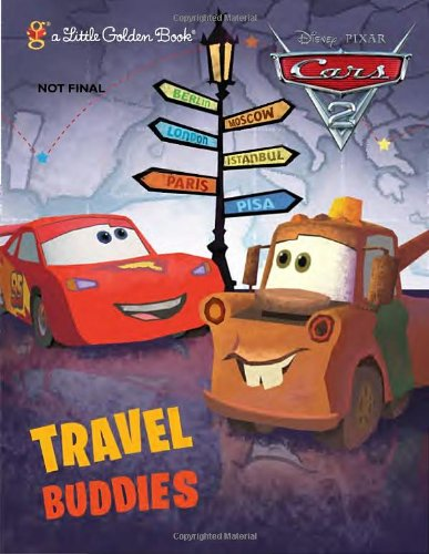 Travel Buddies (Disney/Pixar Cars) (Little Golden - Pixar Ghost Cars Disney Light