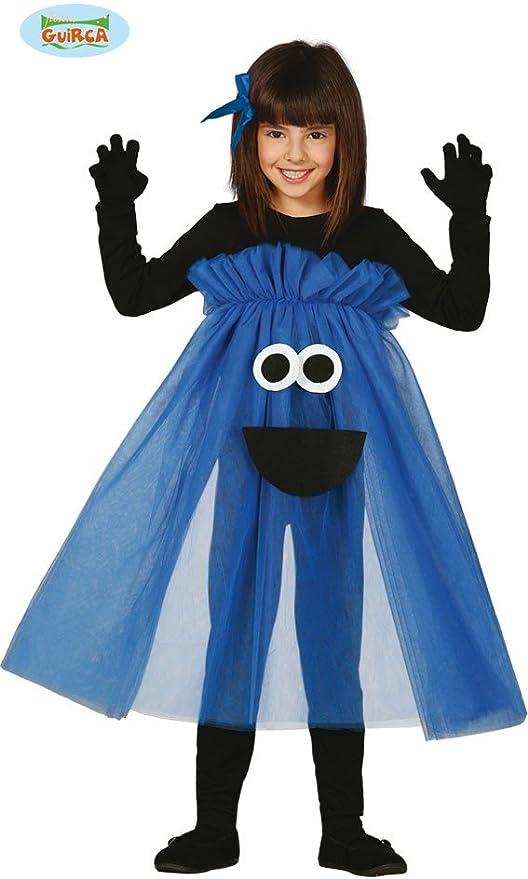 Disfraz de Monstruo-tutú azul talla 7-9 años: Amazon.es: Juguetes ...