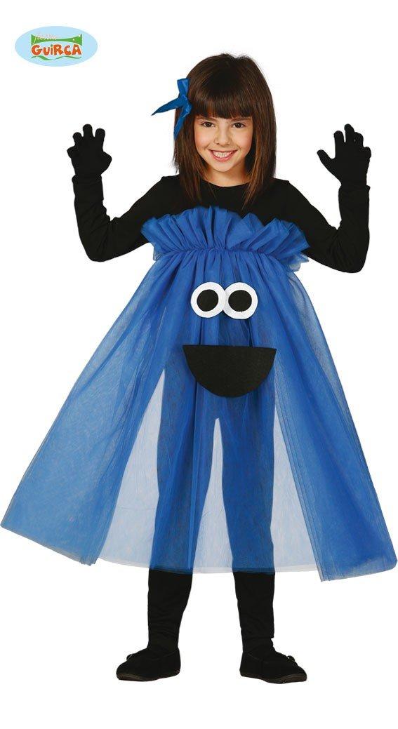 Disfraz de Monstruo-tutú azul talla 5-6 años: Amazon.es: Juguetes ...