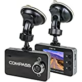 The Original Dash Cam 2.4 Screen Full HD 1080P Wide Angle Dashboard Camera, Car DVR Vehicle Dash Cam with G-Sensor, Loop Recording, Grey