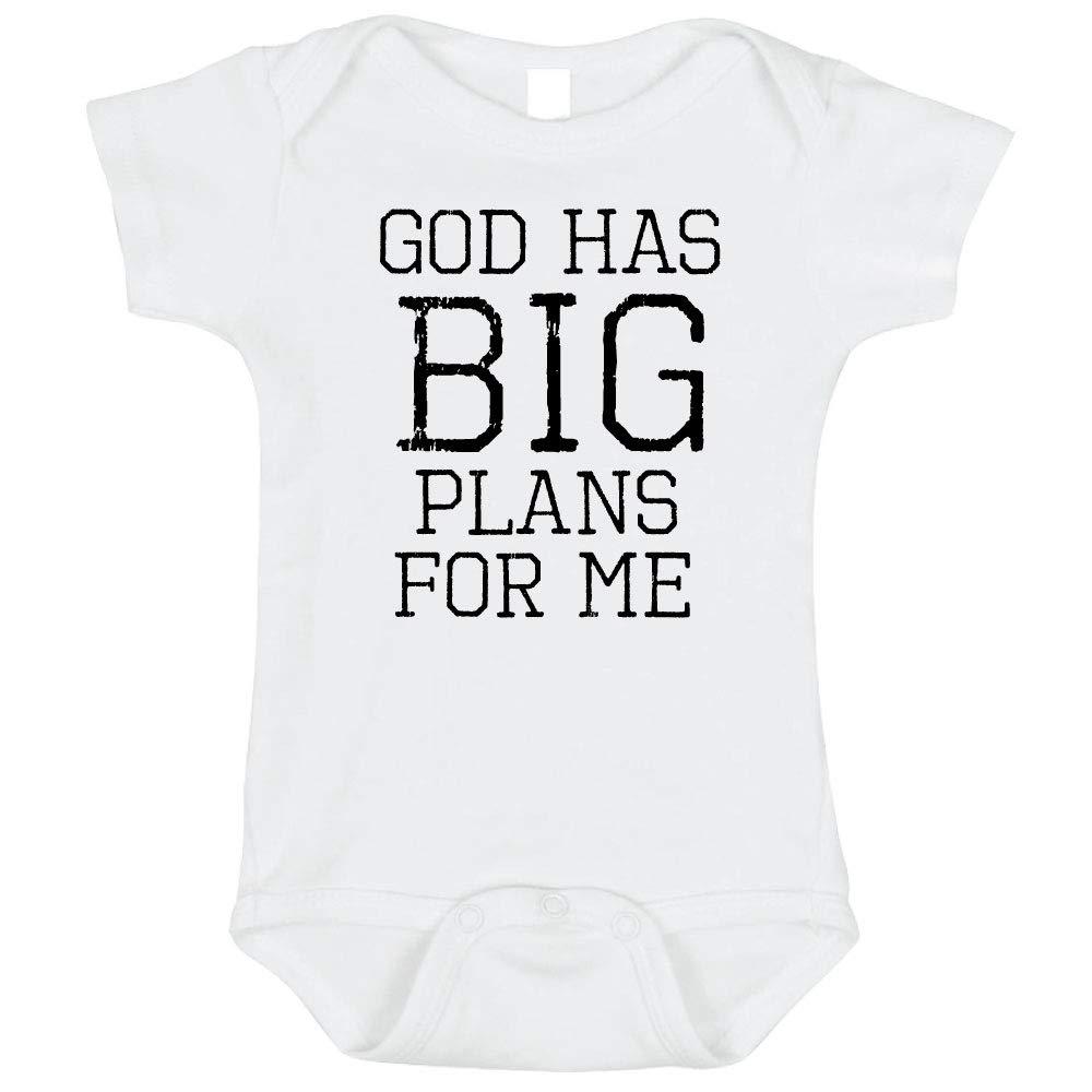 Bebe Bottle Sling God Has Big Plans for Me | White XS Preemie Size | Adorable Gift