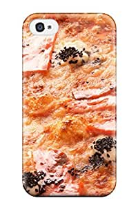 Durable Pizza Back Case/cover For Iphone 4/4s