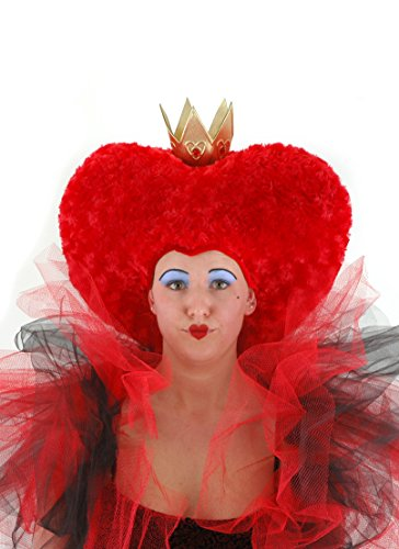 Alice Costumes Queen Hearts Of (Disney Alice in Wonderland Red Queen Plush Hat by)