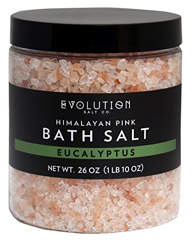 Evolution Salt - Bath Himalayan Salt Coarse Eucalyptus 26 (Pink Himalayan Bath Salts)