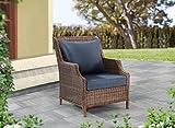 Sunjoy S-PL062PFB-B 2-Piece Chair Deep Seating