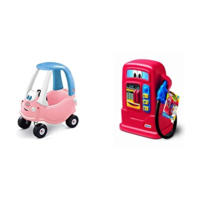 Little Tikes Princess Cozy Coupe and Cozy Pumper - Bundle: Toys & Games