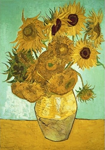 Wentworth Sunflowers Miniature 40 Piece Wooden Vincent van Gogh Jigsaw Puzzle