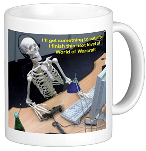World of Warcraft Mug Skeleton 15 Oz
