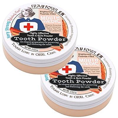 Frau Fowler Tooth & Gum Powder